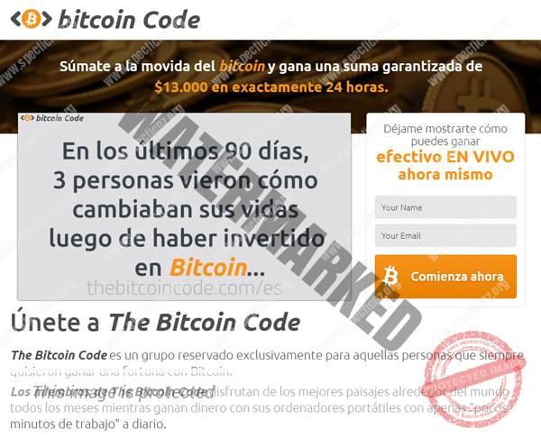 Bitcoin Code ¿Broker Confiable y Seguro?