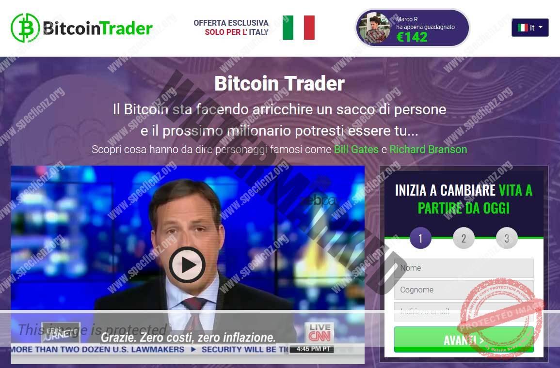 Bitcoin Trader Recensioni