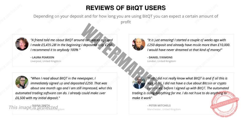 BitQT Użytkownicy