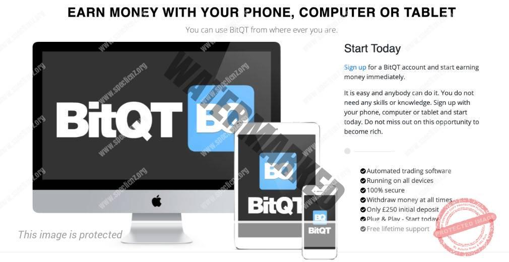 BitQT korzyść