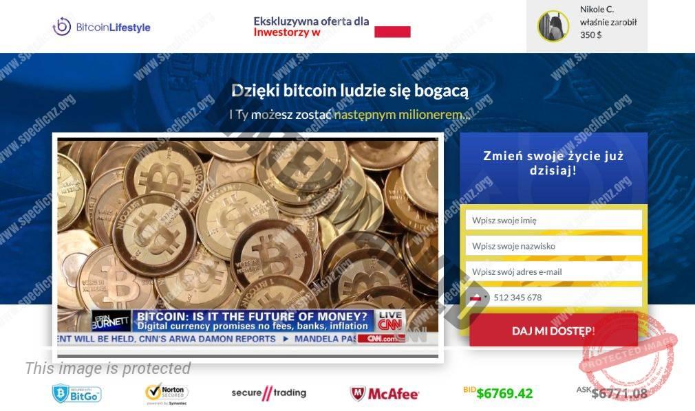 Bitcoin Lifestyle Platforma