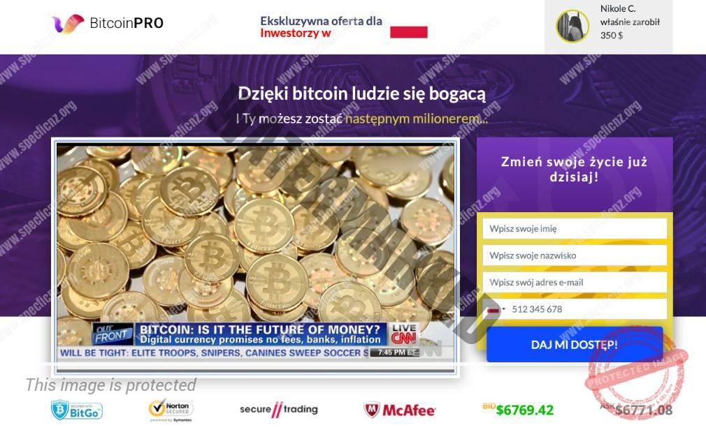 Bitcoin Pro Platforma