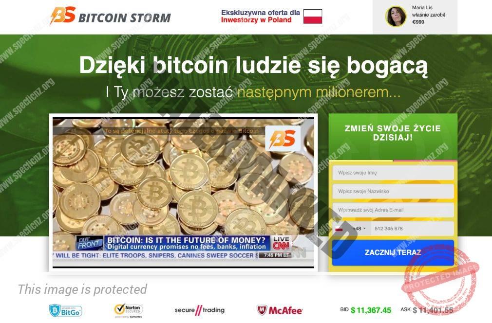 Bitcoin Storm Platforma