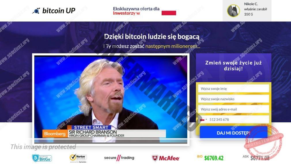 Bitcoin UP Platforma