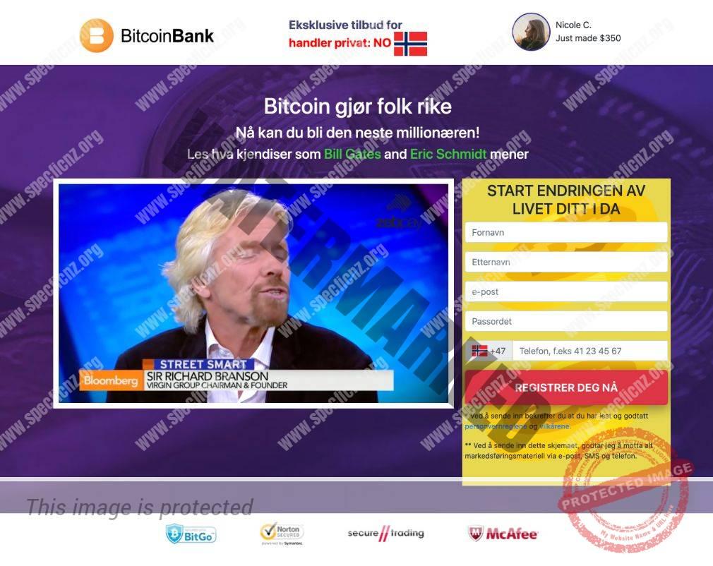 Bitcoin Bank Erfaringer