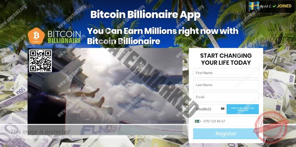 Bitcoin Billionaire Ärlig Recension