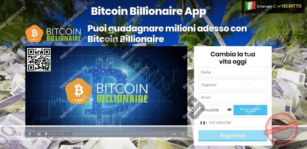 Bitcoin Billionaire Recensioni