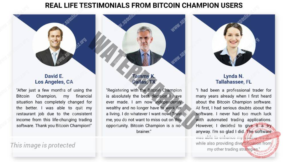 Bitcoin Champion user