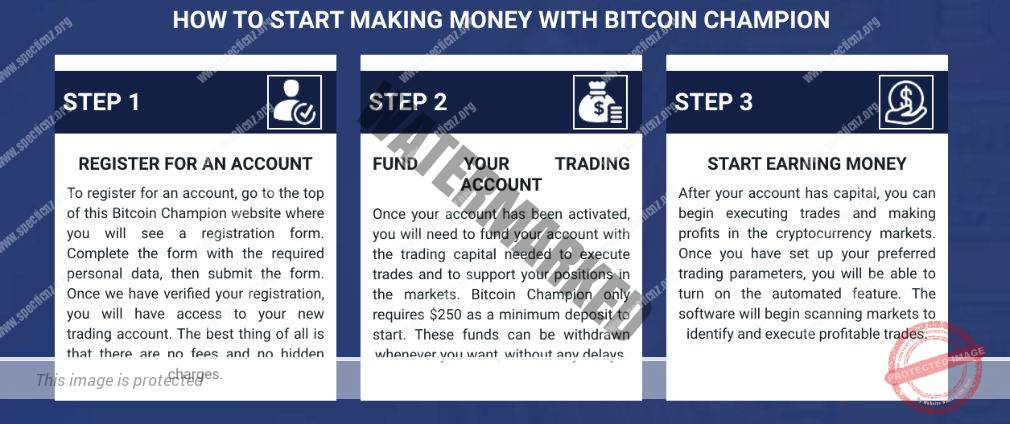 Bitcoin Champion how to get started