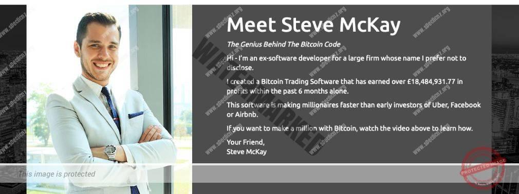 Bitcoin Code founder