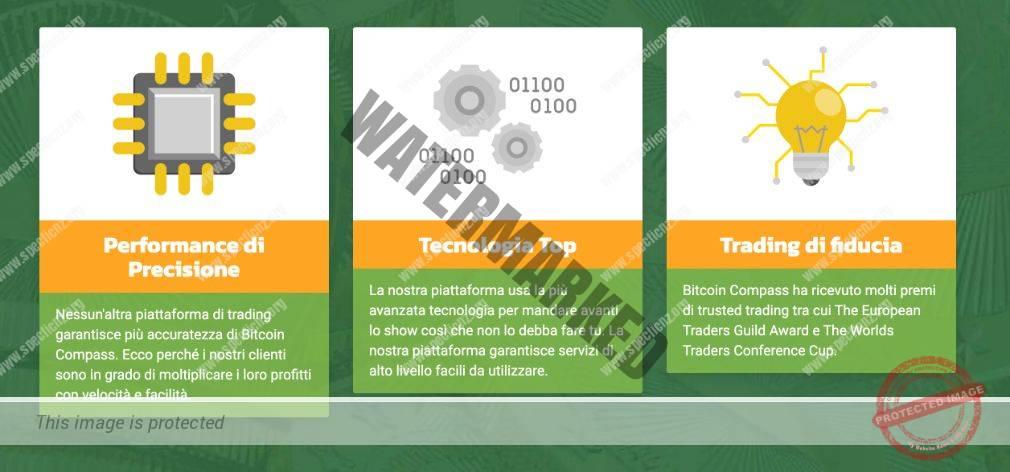 Vantaggi del trading con Bitcoin Compass