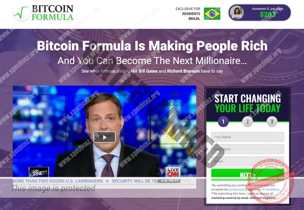 Bitcoin Formula Revisão