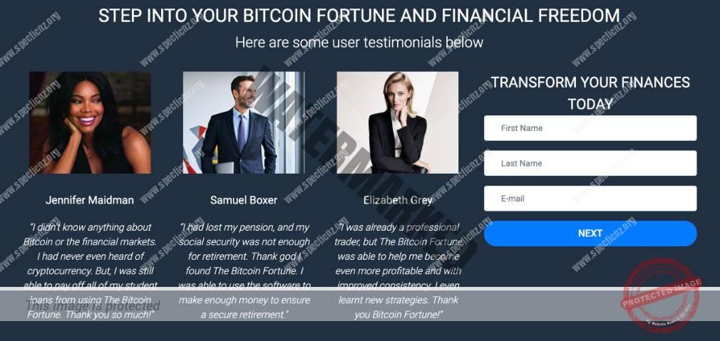 Bitcoin Fortune user