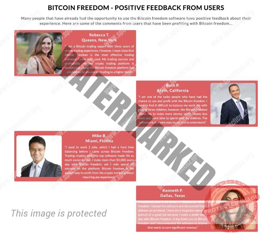 Bitcoin Freedom user