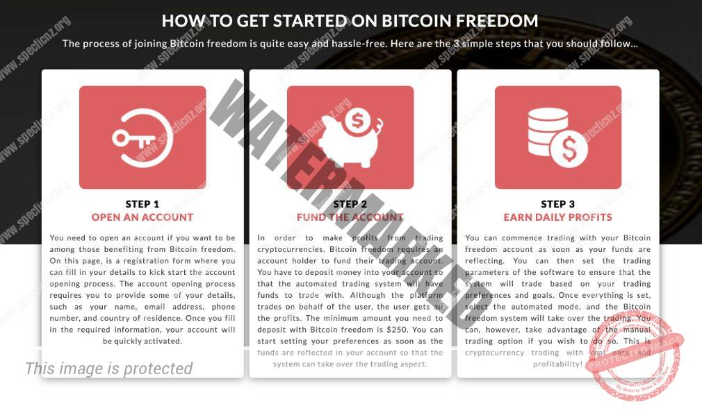 Bitcoin Freedom how to get started