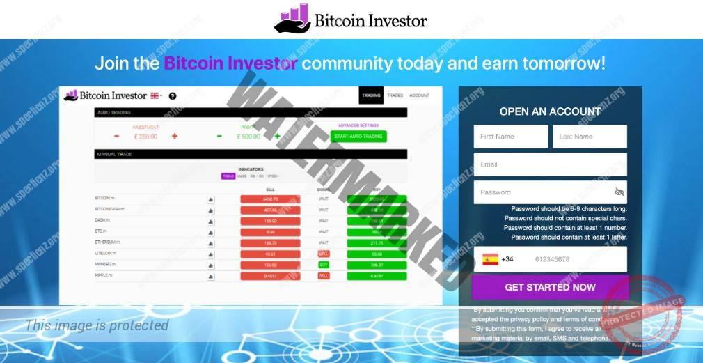 Bitcoin Investor ¿Broker Confiable y Seguro?