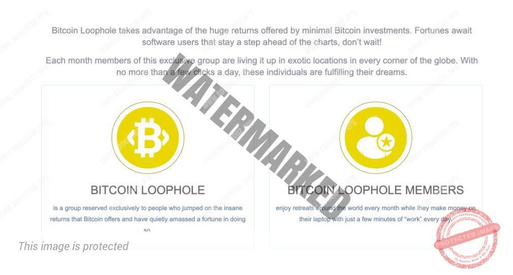 Bitcoin Loophole Características