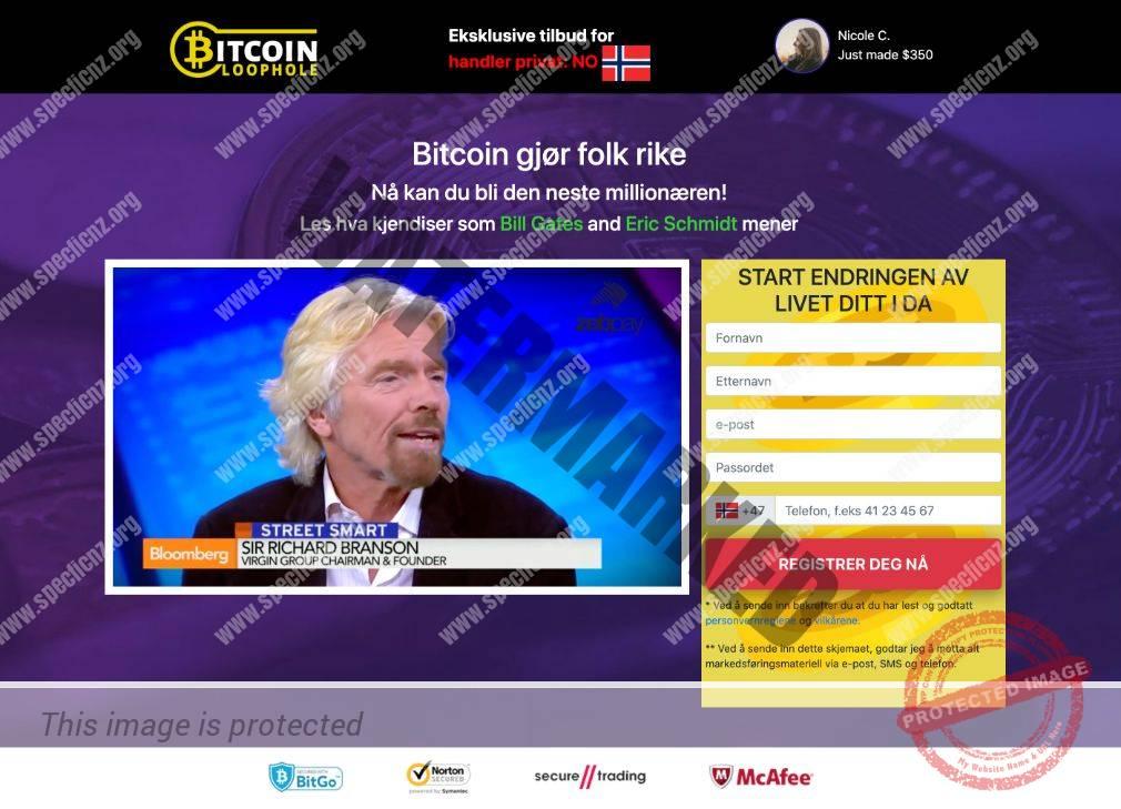 Bitcoin Loophole Erfaringer