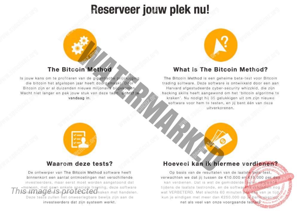 Bitcoin Method hoe het werkt