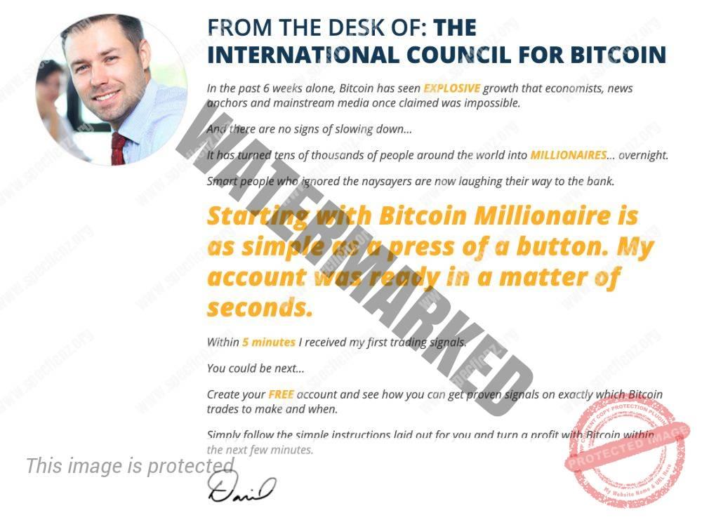 Bitcoin Millionaire founder