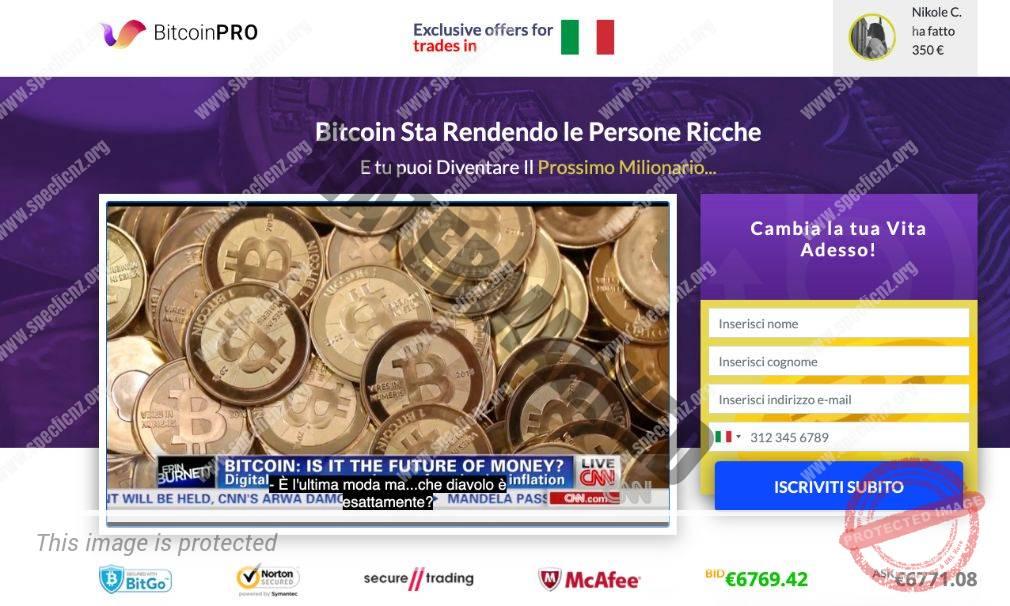 Bitcoin Pro Recensioni