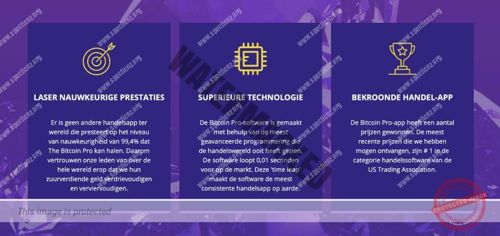 Bitcoin Pro Voordelen