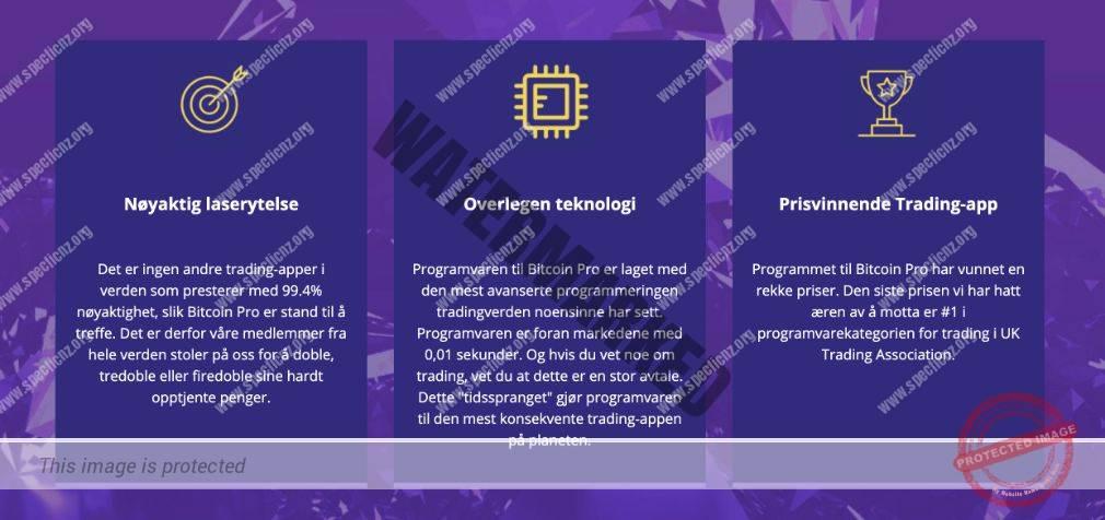 Fordeler med handel med Bitcoin Pro