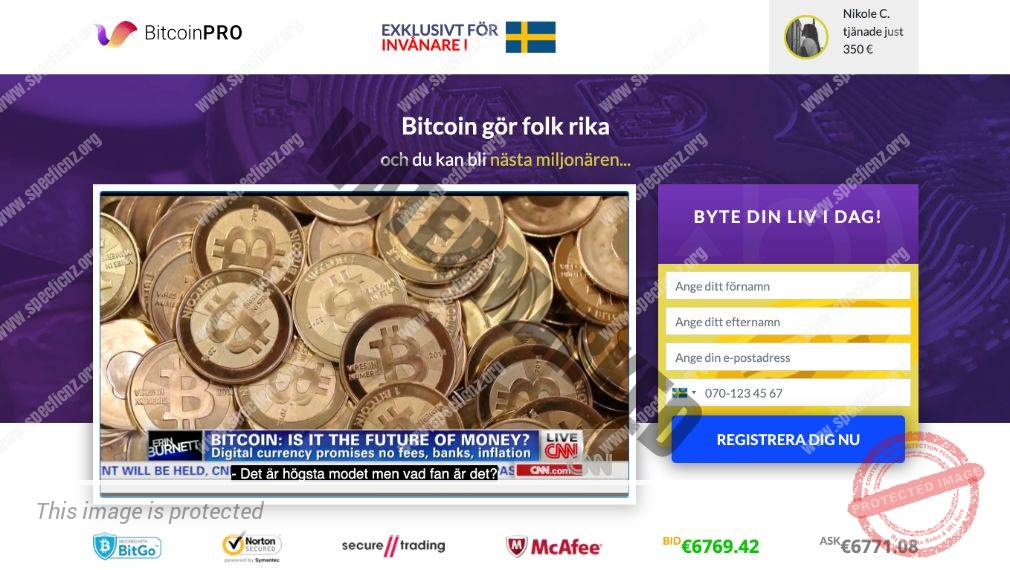 Bitcoin Pro Ärlig Recension