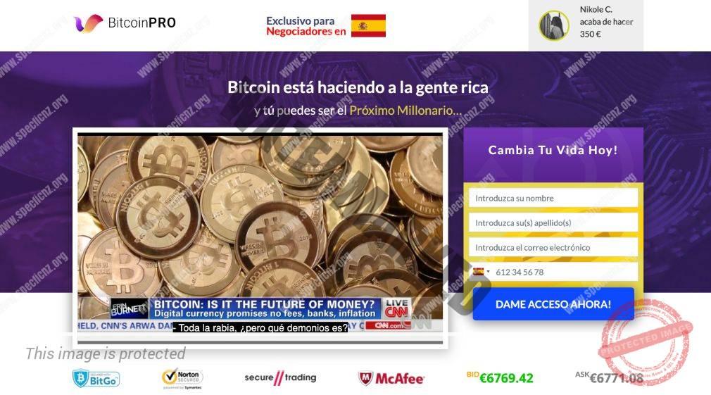 Bitcoin Pro ¿Broker Confiable y Seguro?