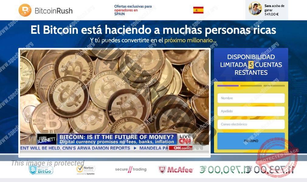 Bitcoin Rush ¿Broker Confiable y Seguro?