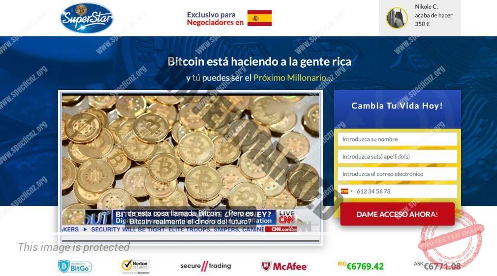 Bitcoin Superstar ¿Broker Confiable y Seguro?