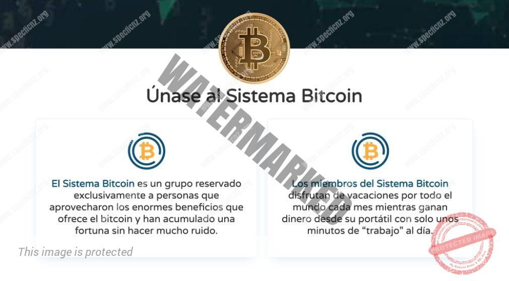 Bitcoin System Características