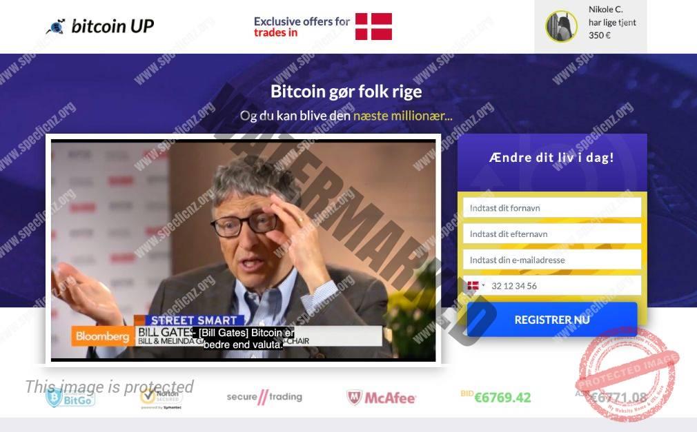 Bitcoin UP Erfaringer