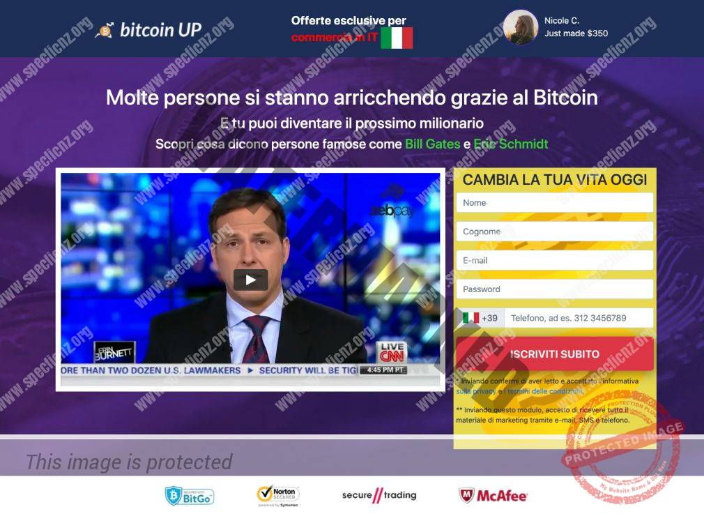 Bitcoin UP Recensioni