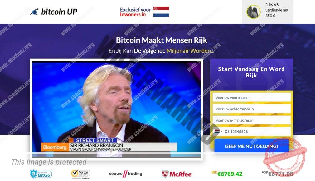 Bitcoin UP Handelen Ervaringen
