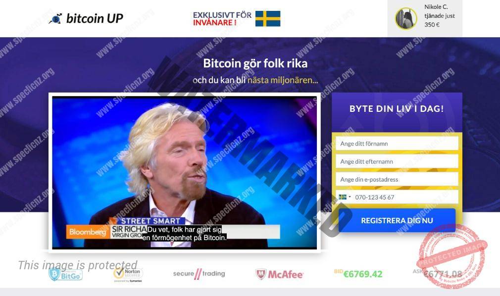 Bitcoin UP Ärlig Recension