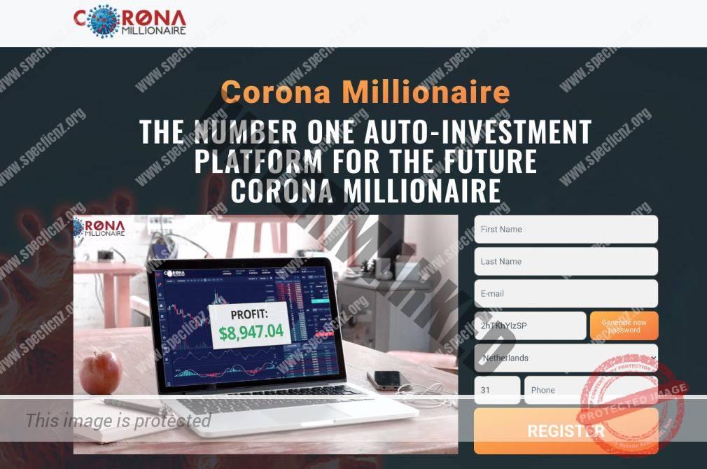 Corona Millionaire Handelen Ervaringen