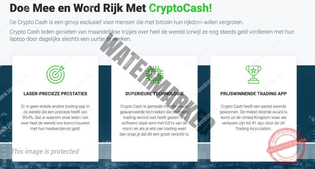 Voordelen van handelen met Crypto Cash