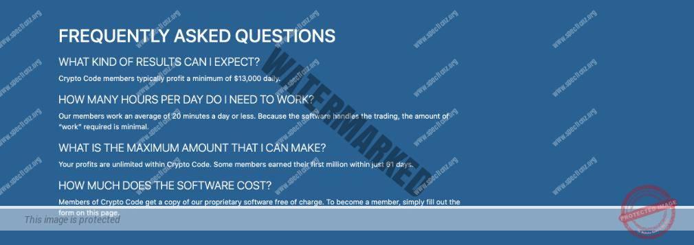 Crypto Code FAQ
