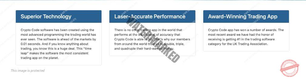 Crypto Code Voordelen
