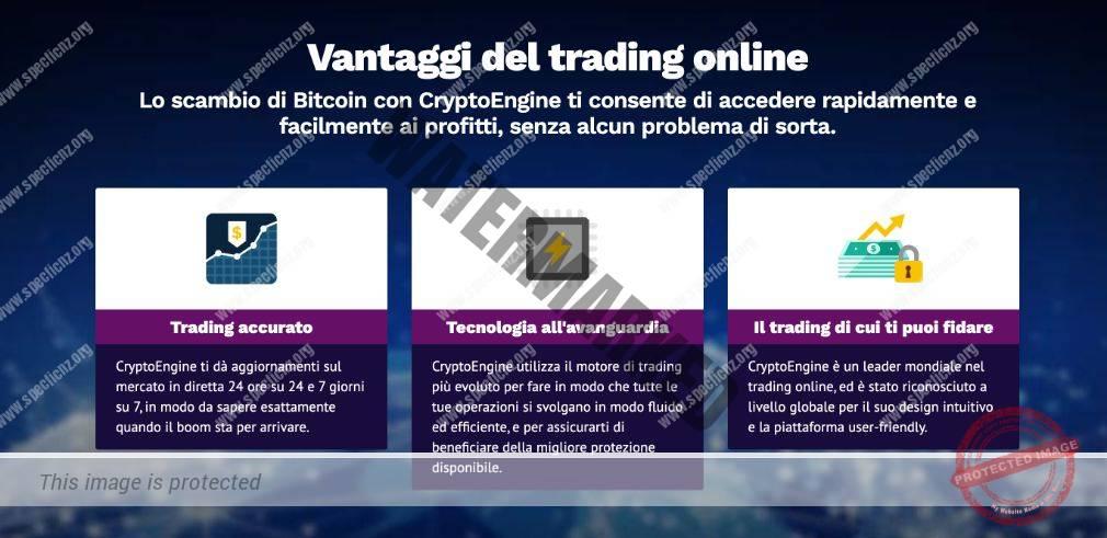 Vantaggi Crypto Engine