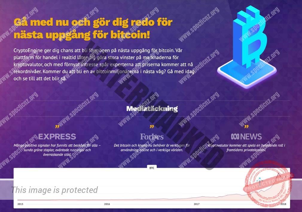 Mediarapportering om Crypto Engine