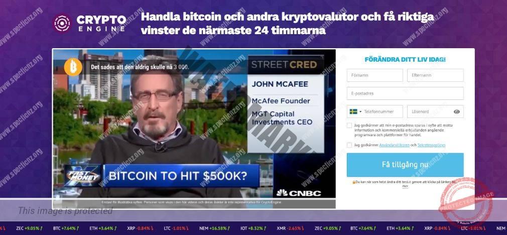 Crypto Engine Ärlig Recension