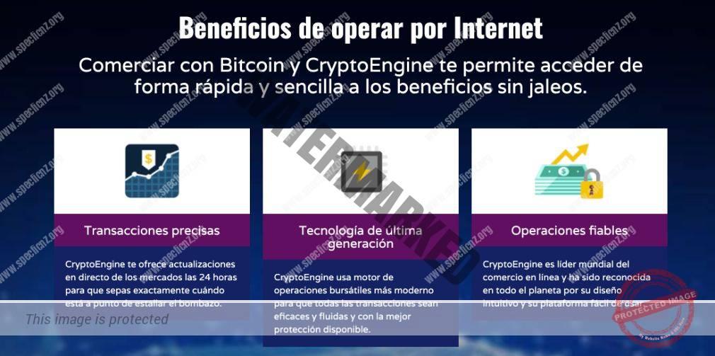 Crypto Engine Características