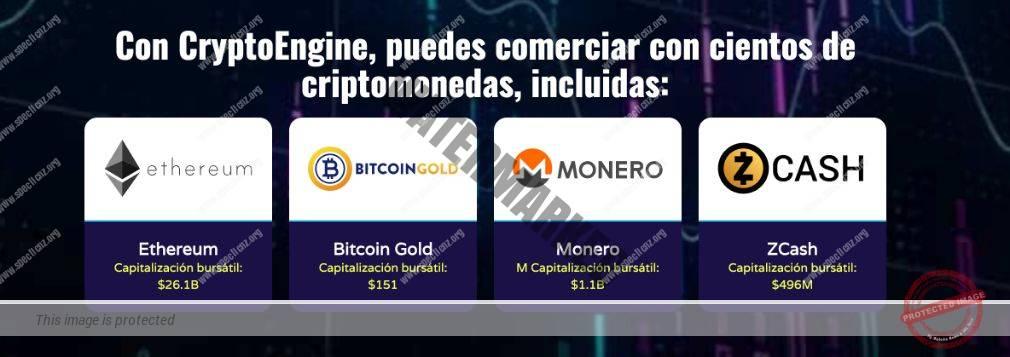 Crypto Engine Monedas