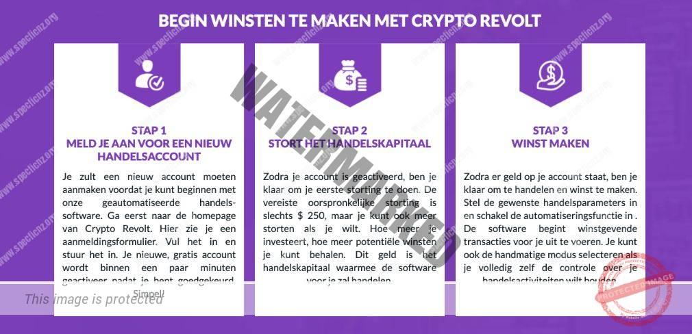 Crypto Revolt hoe het werkt