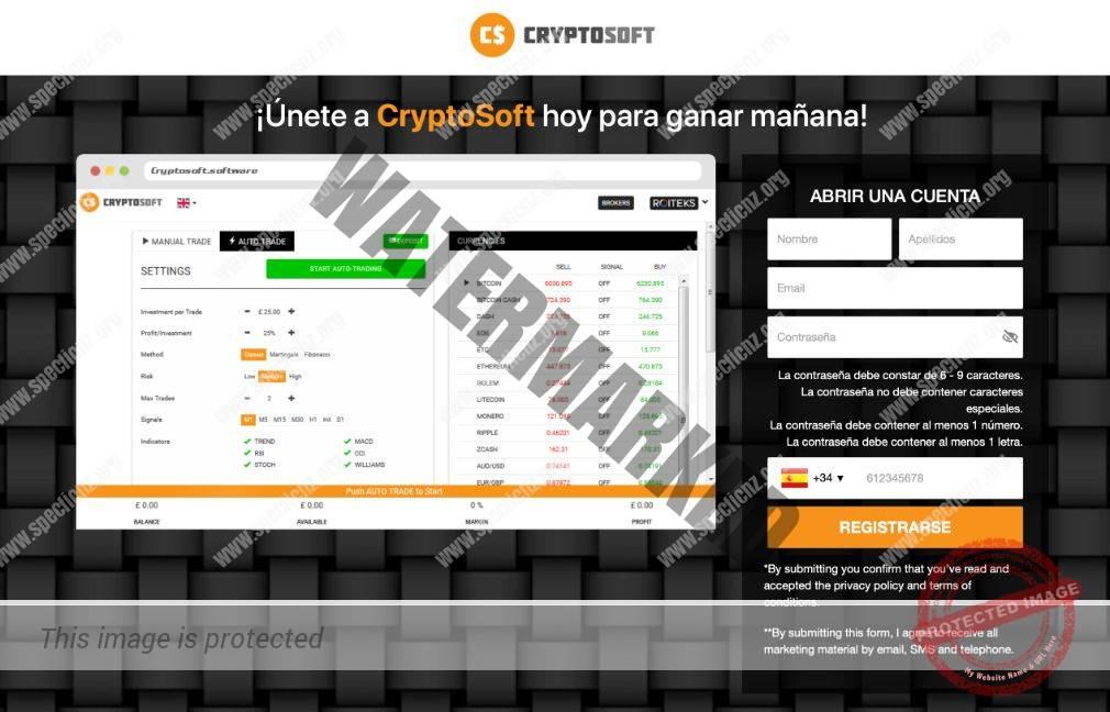 Cryptosoft ¿Broker Confiable y Seguro?