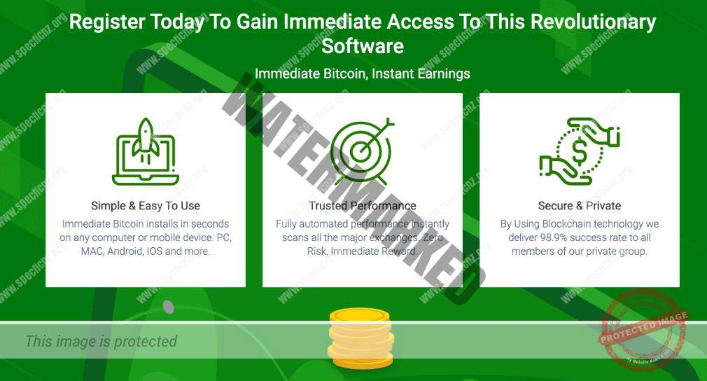 Advantages of trading with Immediate Bitcoin