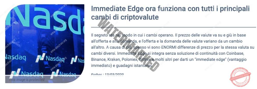 Immediate Edge Informazione