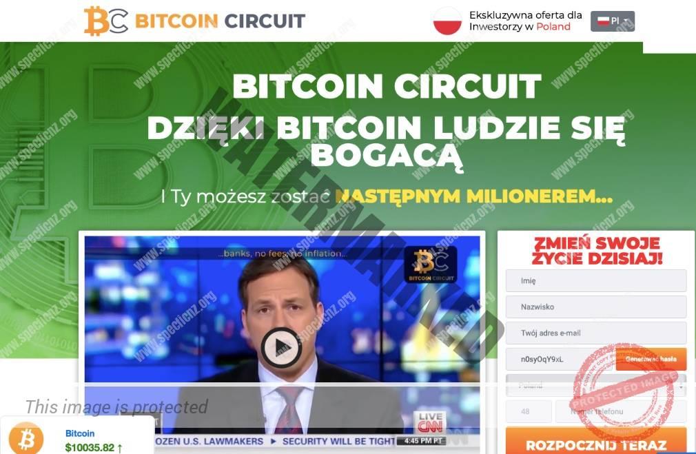 Bitcoin Circuit Platforma